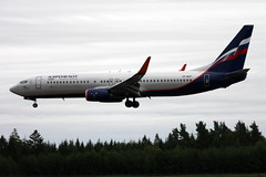 Aeroflot VP-BCF, OSL ENGM Gardermoen (Inger Bjrndal Foss) Tags: vpbcf aeroflot boeing 737 osl engm norway gardermoen