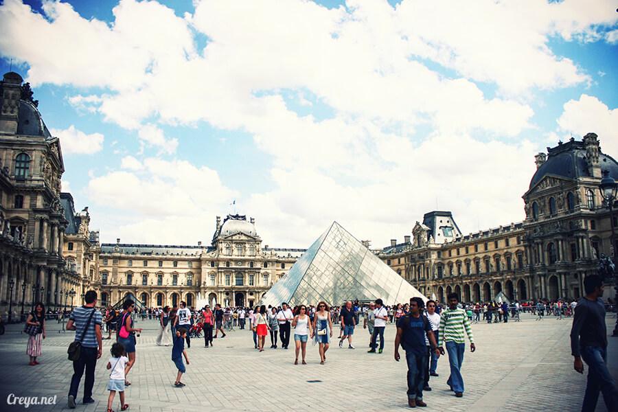 2016.8.28 ▐ 看我的歐行腿▐ 法國巴黎凱旋門、香榭麗舍間的歷史之道 07