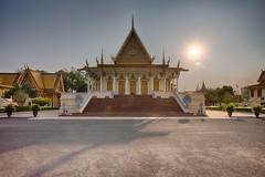 Royal Palace (Adrien Marc) Tags: phnompenh cambodge kh royalpalace hdr gold