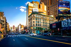 Canal Street (Arutemu) Tags: city cityscape ciudad fuji fujifilm nyc ny newyork newyorkcity manhattan street 18mm