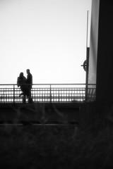 Together (Cattail_) Tags: bridge vanhankaupunginlahti helsinki people couple