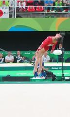 IMG_3484 (Mud Boy) Tags: rio riodejaneiro brazil braziltrip brazilvacationwithjoyce rio2016 rioolympics rioolympics2016 summerolympics 2016summerolympics jogosolmpicosdeverode2016 gamesofthexxxiolympiad thebarraolympicparkbrazilianportugueseparqueolmpicodabarraisaclusterofninesportingvenuesinbarradatijucainthewestzoneofriodejaneirobrazilthatwillbeusedforthe2016summerolympics barraolympicpark barradatijuca rioolympicarena zonebarradatijuca gymnasticsartisticwomensindividualallaroundfinalga011 gymnasticsartisticwomensindividualallaroundfinal ga011 rioolympicarenagymnastics gymnastics alyraisman floorexercise competition favorite rio2016favorite riofacebookalbum riofavorite olympics