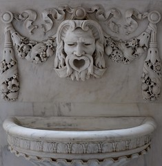 Fountain (pburka) Tags: fountain marble white carved carving ornate manhattan nyc nmai bowlinggreen
