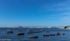 Rio de Janeiro stills beautiful (Pereira Jonatas) Tags: riodejaneiro baiadeguanabara cu canoa barco olympic games rio 2016