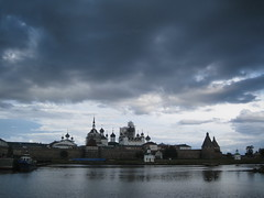 Solovetsky Kremlin (VERUSHKA4) Tags: canon europe white sea russia solovki island kremlin solovetsky cloister church vue view village historic place water seashore boat chapel gate architecture wall bay august summer travel monestary moor religion astounding image