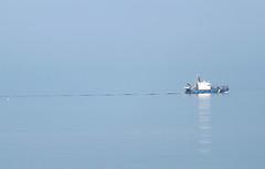 Beautiful Morning (11) (rimasjank) Tags: sea baltic lithuania boat palanga still water