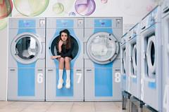 Clean laundry fashion shoot - Amsterdam (Megan Alter) Tags: cleanlaundry conceptualphotography fashionphotographeramsterdam fashionphotographyamsterdam fashionphotoshoot fashionshoot interiordesign laundromatamsterdam laundry lifestyle lightingadvice