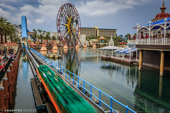 California Screamin' in 3...2... (Samantha Decker) Tags: anaheim ca california californiascreamin canonef1635mmf28liiusm canoneos6d disneyscaliforniaadventure disneyland paradisepier samanthadecker socal themepark
