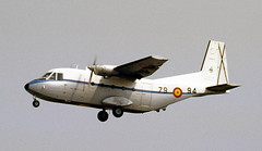 TE.12B-41/79-94. Spanish Air Force CASA 212-100 (Ayronautica) Tags: scanned 1989 july aviation military airshow internationalairtattoo riat egva fairford casa212100 spanishairforce te12b41 ayronautica