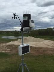 TPC River Highlands, Weather Measuring Device (rbglasson) Tags: connecticut cromwell tpcriverhighlands landscape golf nikon d5500 nikond5500