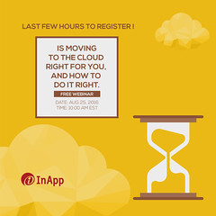 It's TODAY! Hurry up (inapp.inc) Tags: cloudcomputing webinar smb cloud cloudstorage cio smallbusiness business clouds enterprise entrepreneur startup cto