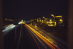 D r i v e (TristanGuy) Tags: route autoroute nuit exterieur exposition lights exposure france young inspired atmosphere roadtrip night cars