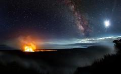 Kilauea (Sckchen) Tags: hawaii bigisland kilauea milchstrase milky way sternenhimmel vulkan volcano dassoeckchen