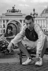 cultural gopnics (Alexey Parshin) Tags: parshin stpetersburg street russia hermitage outdoor lifestyle