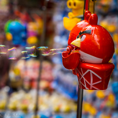 Angry Bird Blow Bubbles (FrozenTales) Tags: toy angrybird bubble market cartoon