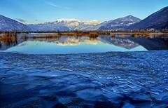 Blue note (giannipiras555) Tags: ghiaccio oasi montagne neve blu specchio riflessi lago natura panorama