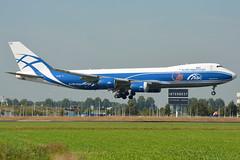 VQ-BRH Air Bridge Cargo Boeing 747-800 EHAM 13/9/16 (David K- IOM Pics) Tags: vq vqbrh abw air bridge cargo boeing 747 747800 b748 eham ams amsterdam schiphol airport