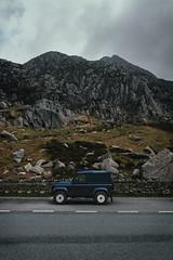 Defender (bstarzec) Tags: travel traveling road roadtrip mountains mountainside climbing