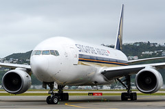 "Welcome Singapore Airlines ""Capital Express"" service between Singapore and Wellington via Canberra! (NZ Aviation Photography) Tags: 777 singaporeairlines nzwn boeing plane takeoff aeroplane planespotting nikon d7000 nz airplane wellingtonairport landing"