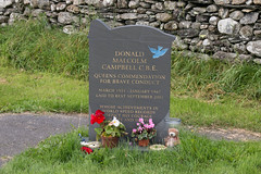 Donald Campbell's grave 2 (Bill Cumming) Tags: cumbria coniston lakedistrict bluebird donaldcampbell grave