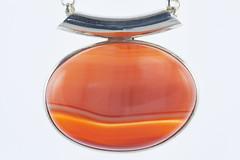 Pendant orange (aldenchadwick) Tags: jewellery jewlery gemstone
