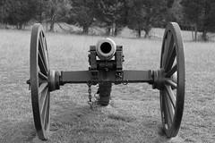 Manassas Battlefield Ghosts Manassas Battlefield Cannon Black Amp Amp White Scott Fracasso Photography