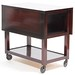 66. Drop Leaf Tea Cart, Mid Century