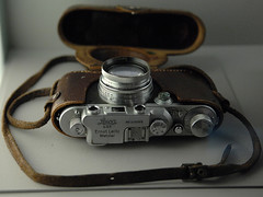 Wieslaw's Leica (David Crausby) Tags: camera leica heritage history germany deutschland holocaust culture genocide kz warsawuprising worldwartwo lowersaxony nazism leicaii bergenbelsen wieslawchrzanowski