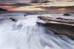 Coal Cliff (stevoarnold) Tags: ocean seascape water sunrise landscape rocks australia seacliff nsw southcoast illawarra coalcliff grandpacificdrive