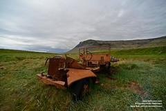shs_n8_004330 (Stefnisson) Tags: summer west car landscape iceland rust 4x4 sumar fjords sland vestfirir westfjords ry bl blhr stefnisson