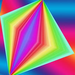 I bring my horn with me (Marco Braun) Tags: color rainbow triangle arc farbig bunt regenbogen mucho colourfull dreieck multichrome couleures enciel