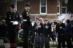 The Serving and the Served (Kevin Vyse Photography) Tags: ontario canada fall army uniform respect navy fallen soldiers guns served remembranceday cenotaph airforce woodstock serving 2012 loyalty honour remembering vetrans kvphotography