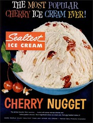 1960 Cherry Nugget Sealtest (1950sUnlimited) Tags: food design desserts icecream 1950s packaging snacks 1960s dairy midcentury snackfood sealtest