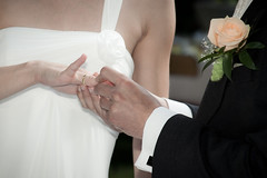 Just Married (mabras_world) Tags: wedding groom bride ring hochzeit braut brutigam trauung ehering brautpaar