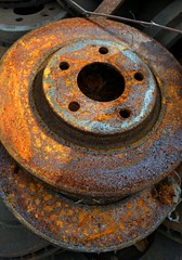 Rust in the Round (timmerschester) Tags: old ontario canada car rust decay parts mcleans