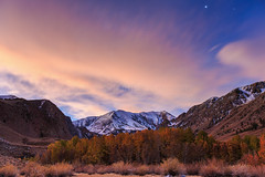 Glorious Skies (Ben Sheriff Photography) Tags: california morning mountains northerncalifornia forest sunrise landscape dawn nationalforest aspens norcal sierras easternsierras laurelcanyon aspentrees aspengrove monocounty bloodymountain bensheriffphotography