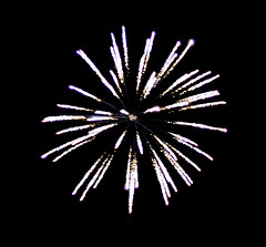 Fire Star (Digital Paul) Tags: west sussex firework selsey