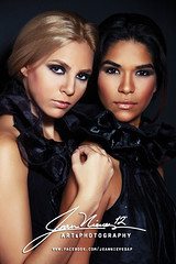 Top Models in Black (Jean Nieves) Tags: fashion photography jean top models melissa rosario editorial ayala alejandra unica nieves