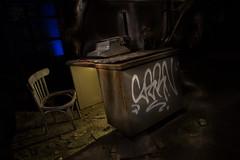 The Typewriter - Light painting.jpg (Bob's Corner) Tags: lightpainting typewriter chair desk canonefs1585mmf3556isusm