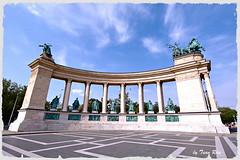 IMG_6200_Heroes Square (Tuan Ru) Tags: canon square landscape europe mark budapest 100mm 1d heroes 70200mm 2470mm markiii 14mm canon1d phongcnh 1dmarkiii tuanrau