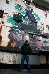 the black duke of lancaster (mrzero) Tags: uk streetart wales graffiti hungary ship urbanart northwales mostyn spaypaint mrzero manchaster thedukeoflancaster llanerchymor fatheat blackduke dudug