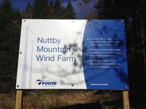 Nuttby Wind Farm in Nova Scotia