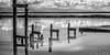 Placebo (eCHstigma) Tags: california longexposure blackandwhite bw landscape bay nikon fremont dumbarton d600 samyang 85f14 10stop rokinon