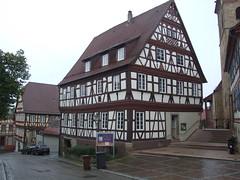 DSCF8951 tisheim (boaski) Tags: travel tourism architecture germany europe tourist architektur allemagne duitsland deutchland fachwerk truss badenwrttemberg halftimbering enz tisheim