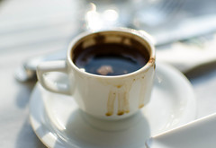 Turkish coffee (Sergey Galyonkin) Tags: street city turkey istanbul 2012