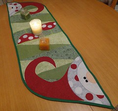 Trilho Natal (PCPriscila) Tags: christmas natal noel patchwork runner aplique trilho