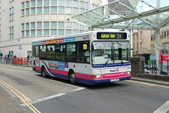 First Dennis Dart SLF 42703.R703BAE - Bristol (dwb transport photos) Tags: bus bristol pointer first dennis dart plaxton 42703 r703bae