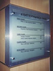 Interior Building Directory