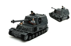 'Elephant' Tiger (P) Tank Destroyer ([Stijn Oom]) Tags: snow elephant hat logo tank lego tiger tracks destroyer german ww2 p base tanks germans officers wehrmacht brickizimo ferdinandtank