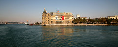 Haydarpasa Terminal 7 (David OMalley) Tags: road sea heritage station architecture port train turkey asian asia republic great rail grand landmark istanbul terminal historic east massive ottoman middle eastern turkish turk preservation significant kadikoy haydarpasa bosporus grandiose architecturally